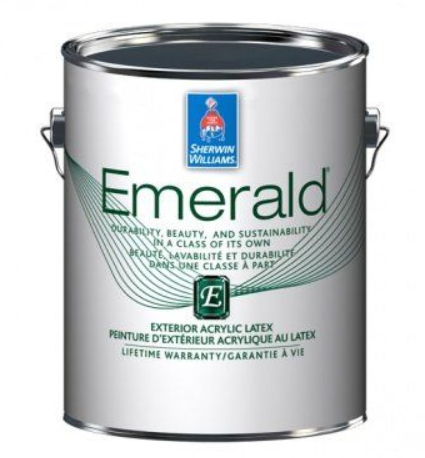 Фасадная краска Sherwin Williams Emerald Exterior Satin 3,78 л