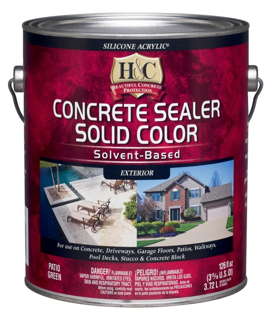Лак для камня (бетона) Sherwin Williams H&C Concrete Sealer Solvent Based (Clear) 3,72 л