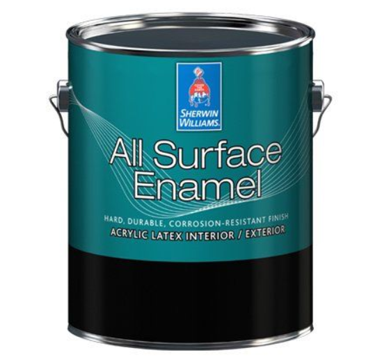 Эмаль для лепнины и металла Sherwin Williams All Surface Enamel Interior-Exterior Acrylic Latex